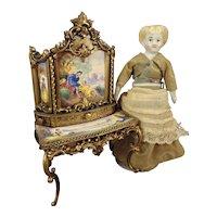"5"" Petite Blonde China with Rare Hair"