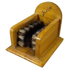 Miniature Boot Brush in Doll Size