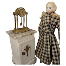 """5 1/4"""" Parian Doll House Doll with Flat Shoes"""