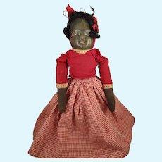 Bruckner Topsy Turvy in Red Gingham Dress