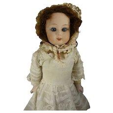 """10 1/2"""" Gebruder Heubach Character Doll with Sleep Eyes"""
