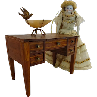 Antique Dressing Table Vanity for Fashion Doll