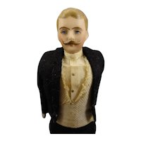"7 1/4"" Doll House Gentleman in Tuxedo"