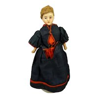 """German Bisque Doll House Lady 5"""""""