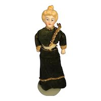 """5"""" Doll House Lady with Apollo Knot"""