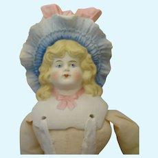"""15"""" German Bonnet Head with Elaborate Bonnet"""