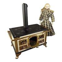German Doll House Miniature Stove