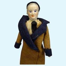 Rare Doll House Gentleman with Sideburns and Beard
