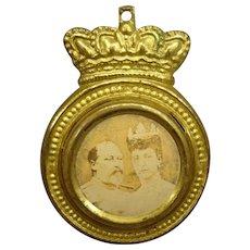 Ormolu Framed Picture of Royals