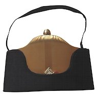 Vintage Volupte Compact Purse Carryall