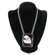 Original BeCa Black and Silver-Colored Necklace