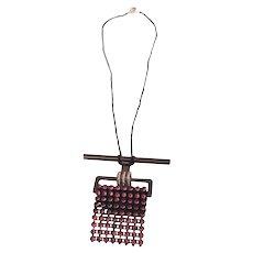 BeCa Original Black and Hot Pink Necklace