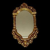 Vintage Syroco Framed Mirror