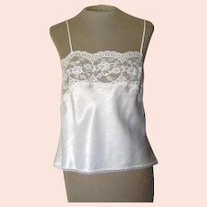 Olga Light Pink Camisole with Pretty Lace