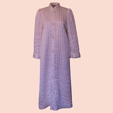 Vintage Cream Miss Elaine Quilted Robe