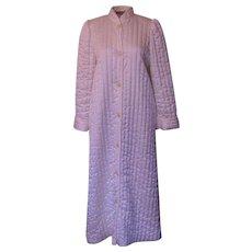 Vintage Cream Miss Elaine Quilted Robe