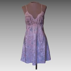 Lucie Ann II Short Floral Nightgown with Lace