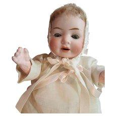 1900 -1920's Sweet 9' German baby doll
