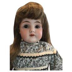 """Circa 1890 – 1900's 16"""" Kestner Bisque Shoulder Head doll"""