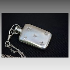 Art Deco Sterling Tiffany Perfume Pendant Necklace