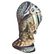 HAR Sultan/Genie Signed Pin/Brooch