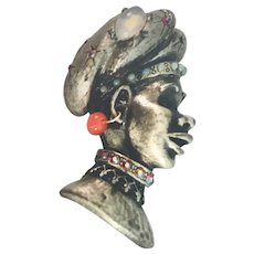 HAR Sultan/Genie Brooch/Pin