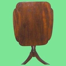Antique Tilt Top Table 1850's