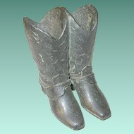 Vintage Match Safe Boot Design by Trophy Craft