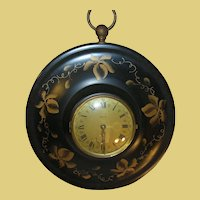 Early ToleWare Clock 8 Day Germany