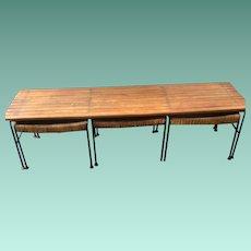 Vintage Bench/Stools Set by Umanoff