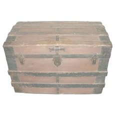 Antique Trunk Domed 1860's