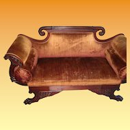 Antique Love Seat 1840's