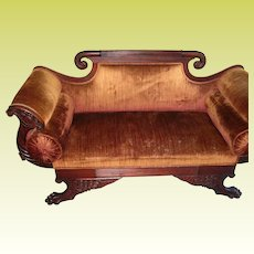 Antique Love Seat 1840's