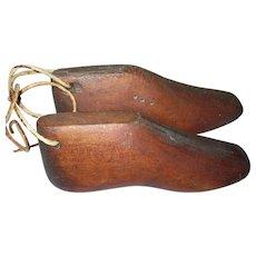 Vintage Wooden Shoe Forms 1820's