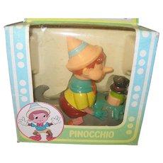 Vintage Walt Disney Productions Action Pets Pinocchio
