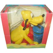 Vintage Walt Disney Production Action Pets Pluto