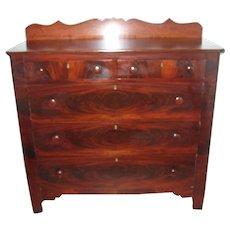 Victorian Flame Mahogany Dresser