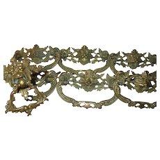 Vintage Brass Drawer Pulls 1870's