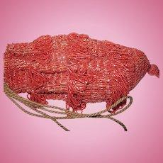 Vintage Flapper Beaded Bag 1920s