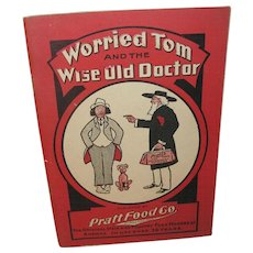 Worried Tom and the Wise Old Doctor by Pratt Food Co 1905