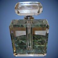Vintage Scent Bottle Lg Cut Crystal