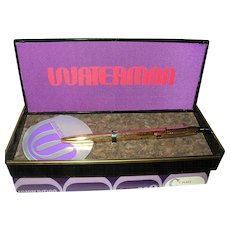 Vintage Waterman Pen Original Box