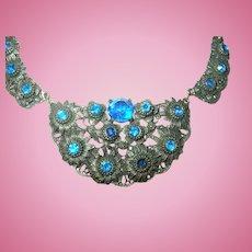 Vintage Czechoslovakian Pendant Necklace
