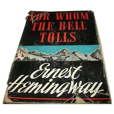 Ernest Hemingway For Whom the Bell Tolls 1st Edition