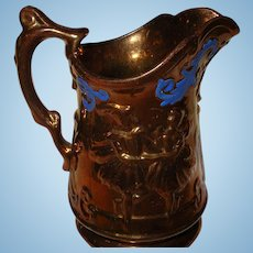 Lusterware Pitcher 1880's