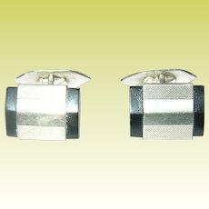 Art Deco Cuff Links 835 Coin Silver German