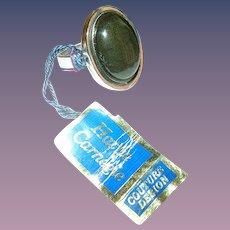 Vintage Hattie Carnegie Ring Original Tag