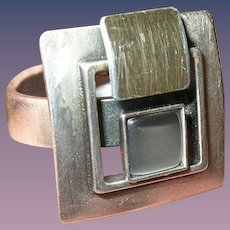Vintage Ring Mid Century Design