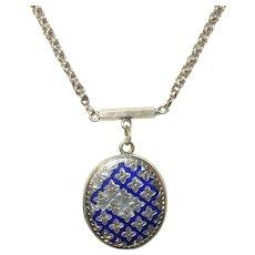 Victorian Necklace Locket Pendant Gold Fill