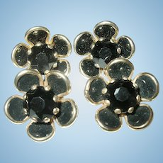 Vintage Earring Brooch Set